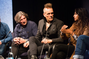 The Future of Music Video panel moderated by John Robb at MusicVidFest 2014
