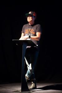 Joseph Kahn delivers his Keynote address
