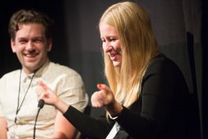 Georgia Hudson and Ninian Doff, directors