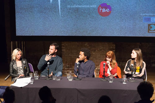 Panel line-up for June 2015's MusicVidFest