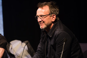 Steve Barron reads from Eggs N Chips & Billie Jean at MusicVidFest 2014